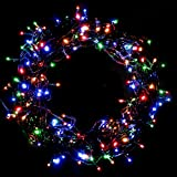ACRATO イルミネーションライト ロマンチック ストレート 電飾り30m 200led クリスマスイルミネーションライト 点滅モデル クリスマス ライト 飾り付け