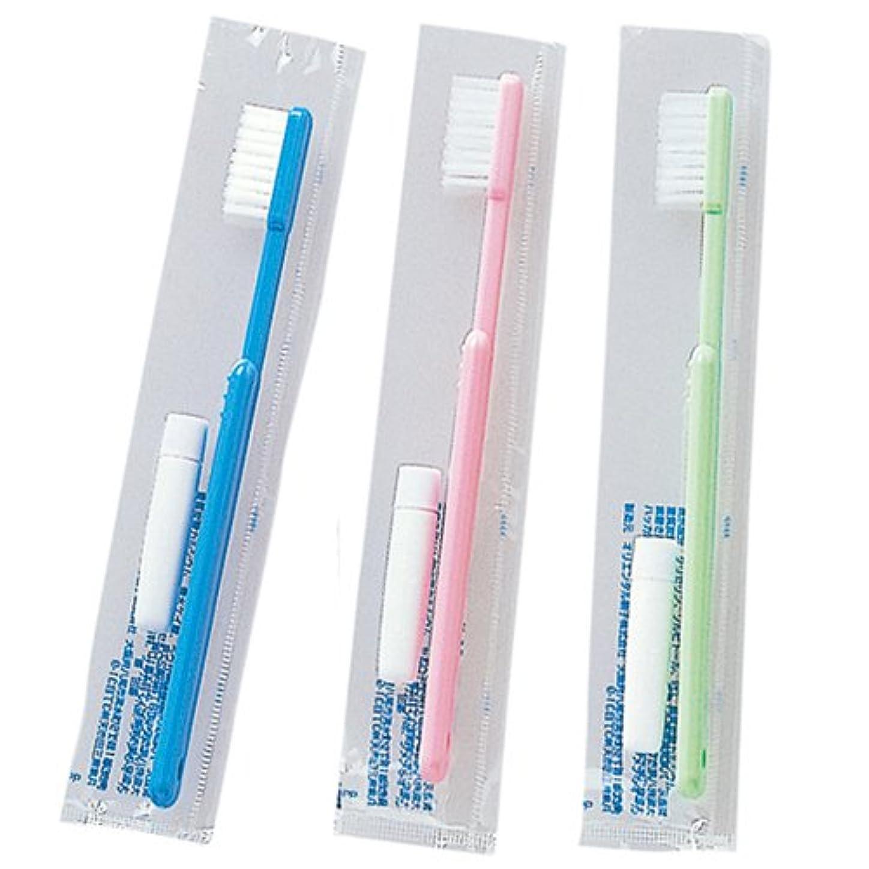 プロット鍔包囲ゲスト歯ブラシ 3P