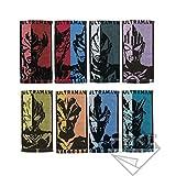 一番くじ ウルトラマンタイガ&ウルトラヒーローズ D賞 ウルトラヒーロータオル 全8種セット