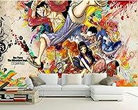 Mbwlkj 写真の壁紙カスタム3Dの壁の壁画日本のアニメの壁紙子供部屋寝室のインテリアデザイン部屋の装飾-250cmx175cm