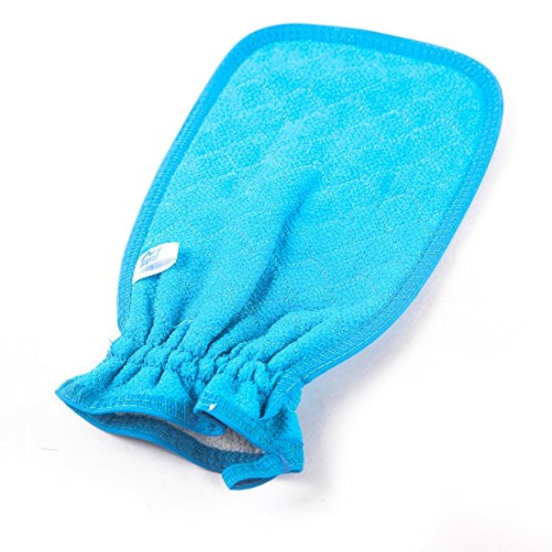 進行中ファイタージョリーあかすりミトン 浴用手袋 泡たてネット付き ウォッシュスキンスパ 泡風呂手袋 マッサージ ボディウォッシュ手袋 バス用品 入浴 グッズ LissomPlume