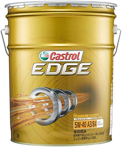 カストロール エンジンオイル EDGE 5W-40 20L ...