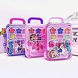 かわいい王女ふりメイクセット化粧品シミュレーション子供女の子子供のおもちゃ - ランダムな色