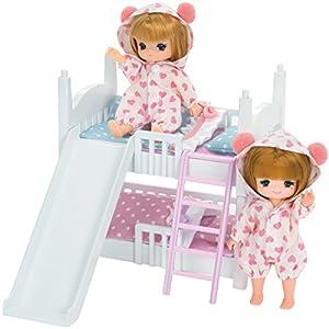 リカちゃん LF-10 ミキちゃんマキちゃん2だんベッド