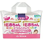 森永 E赤ちゃん エコらくパック つめかえ用 800g(400g×2袋)×2箱 景品付き