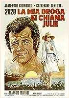 カレンダー 2020 [12 pages 20x30cm] Vintage レトロJean Paul Belmondo 映画s ポスターs