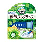 スクラビングバブル トイレ洗浄剤 トイレスタンプ 贅沢フレグランス アロマティックグリーンの香り 本体 (ハンドル1本+付替用1本) 38g
