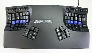 Kinesis Advantage USB Contoured Keyboard 【キネシス コンタードキーボードアドバンテージ・黒】 KB500USB-blk