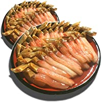 黒帯 ギフトセット 生ズワイガニ 脚 生 ずわい蟹 足 棒肉 ポーション かに むき身 良品選別済 1kg 40-50本前後入