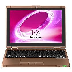 パナソニック Let's Note CF-RZ5CFEPR Windows10 Home 64bit Intel Core m3-6y30 4GB SSD128GB 無線LAN IEEE802.11ac/a/b/g/n Bluetooth USB3.0 HDMI webカメラ 10.1型マルチタッチ液晶 重さ0.77kg バッテリー最大約11.5時間