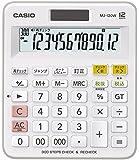 カシオ スタンダード電卓 計算チェック検算 ミニジャストタイプ 12桁 MJ-120W-N