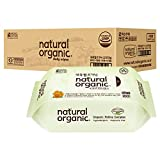 Lovesprings Natural Organic Original Plain Wet Wipes Refill - Case, 100 count (Pack of 10)