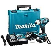 マキタ 充電式4モードインパクトドライバ 18V 3.0Ah 青 バッテリー2個付き TP141DRFX