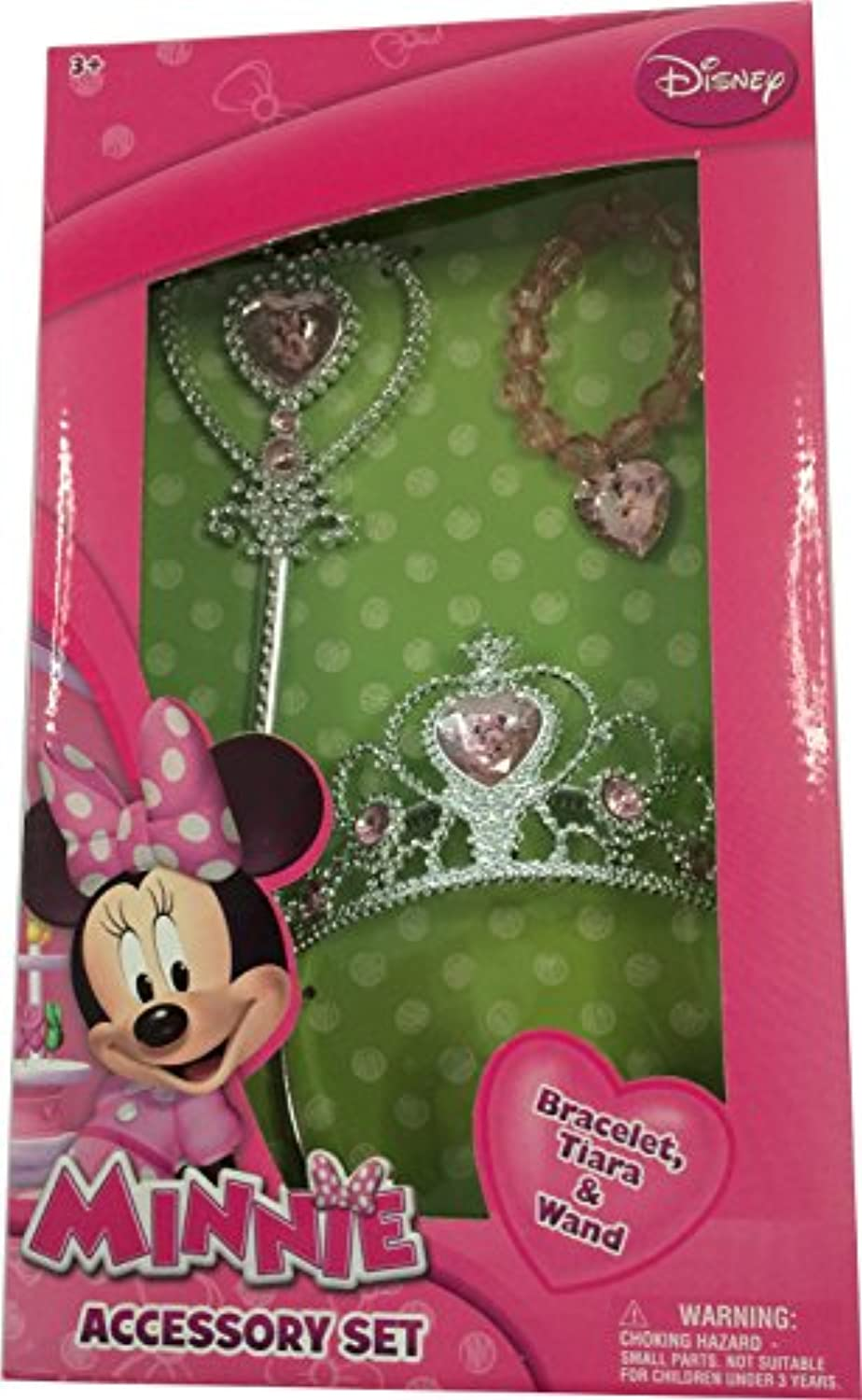[ミニーマウス]Minnie Mouse Tiara Wand and Bracelet Set MM513 [並行輸入品]