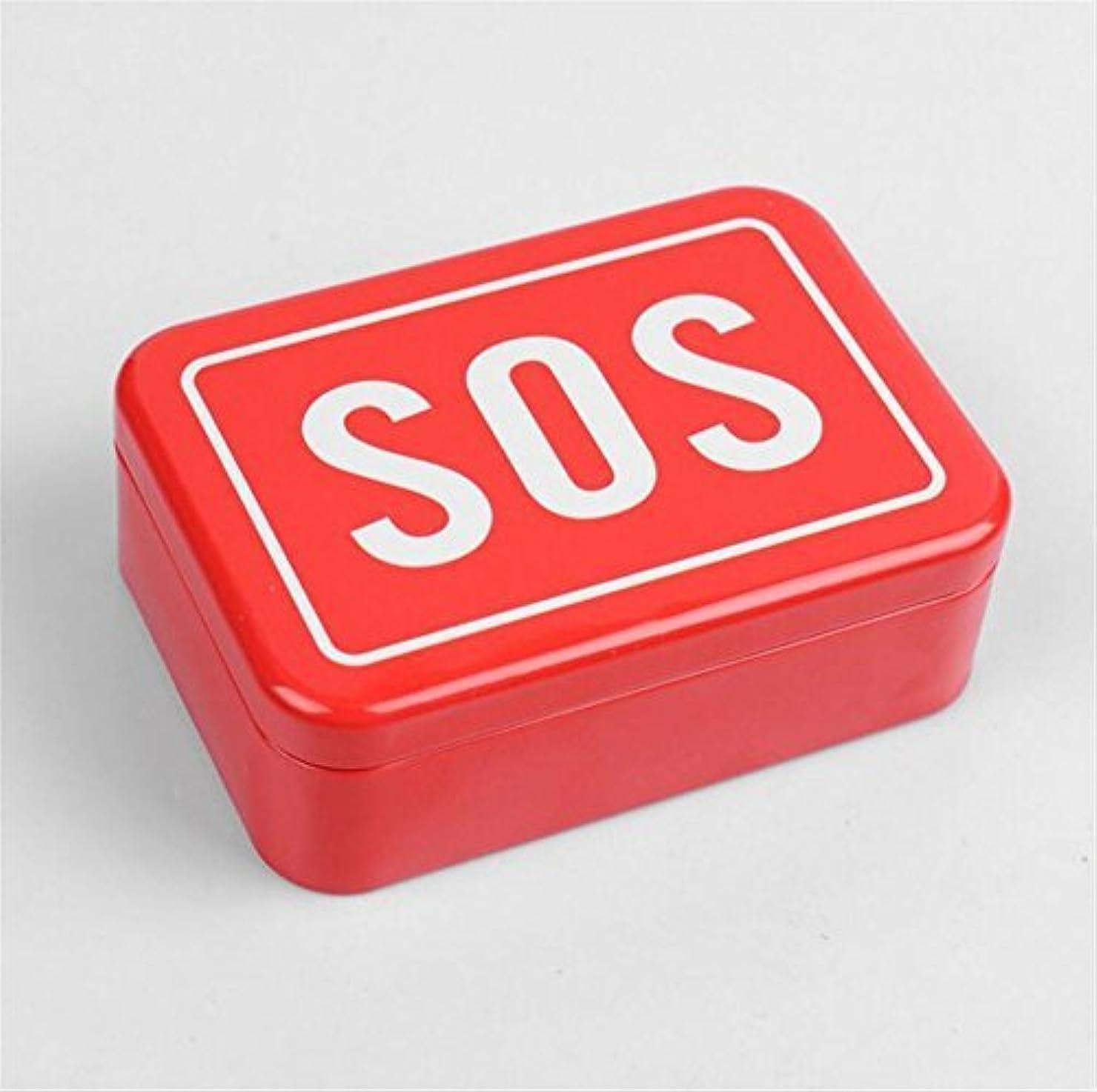 アーティキュレーション丈夫増幅するRaiFu 応急処置ボックス SOS 多機能 ポータブル アウトドア
