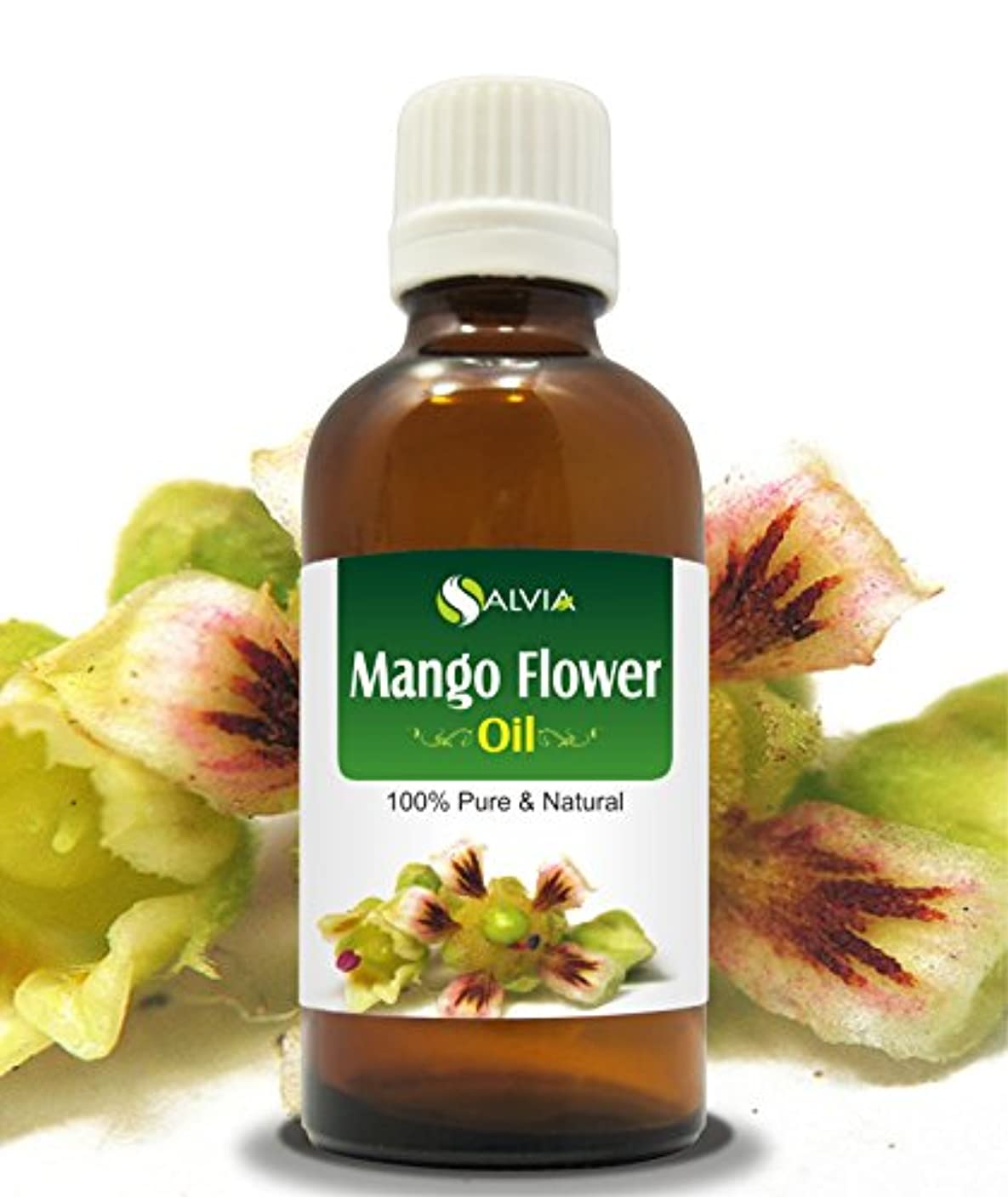 バドミントン八百屋さん狂ったMANGO FLOWERS OIL 100% NATURAL PURE UNDILUTED UNCUT ESSENTIAL OIL 100ML