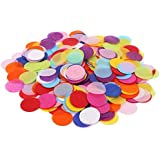 DECORA 10000 Pieces 1.2inch Circle confetti Wedding Sprinkles Tissue Paper Confetti Boda Birthday Party Table Decoration Pinata Fillers [並行輸入品]