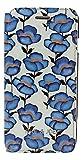 エアージェイ ポール&ジョー(PAUL & JOE)公式ライセンス品 iPhone6SPuls/6Puls専用 PU手帳型 Blue Flowers PJI655BOOK_TFLO