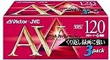 Victor 録画用VHSビデオカセットテープ 120分 3本 3T-120AVK