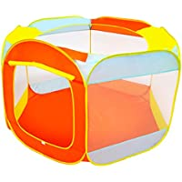 B Blesiya 折りたたみ ポータブル ボールピット 屋内 屋外 プレイテント 六角形 子ども 遊びテント