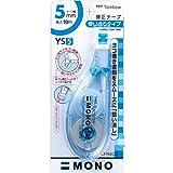 トンボ鉛筆 修正テープ MONO YS5C CT-YS5C40-10P ブルー 10個