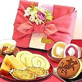 敬老の日 の プレゼント 人気商品 おいもや どら焼き お菓子 食べ物 敬老の日ギフト ギフトセット 竹籠入り風呂敷包…