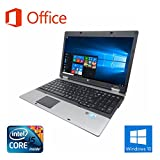 【Microsoft Office 2016搭載】【Win 10搭載】HP 6540B/新世代Core i5 2.53GHz/大容量メモリー4GB/新品SSD:480GB/DVDスーパーマルチ/大..
