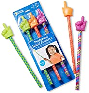 """Learning Resources LER1958 Patterned Hand Pointers Set, 15"""" (3 Piece),15 in,Multi"""