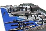 フジミ模型 1/3000 集める軍港シリーズ No.3 呉軍港 プラモデル 軍港3
