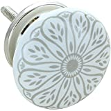 G Decor England Set of 8 Success Ceramic Door Knobs Contemporary Cabinet Pulls for Cabinets, Drawers and Dressers–Decorative