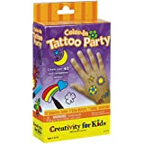Creativity for Kids Color-In Tattoo Party Activity 子供タトゥー党活動カラーインの創造?ハロウィン?クリスマス?