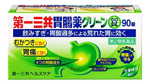 (医薬品画像)第一三共胃腸薬グリーン錠