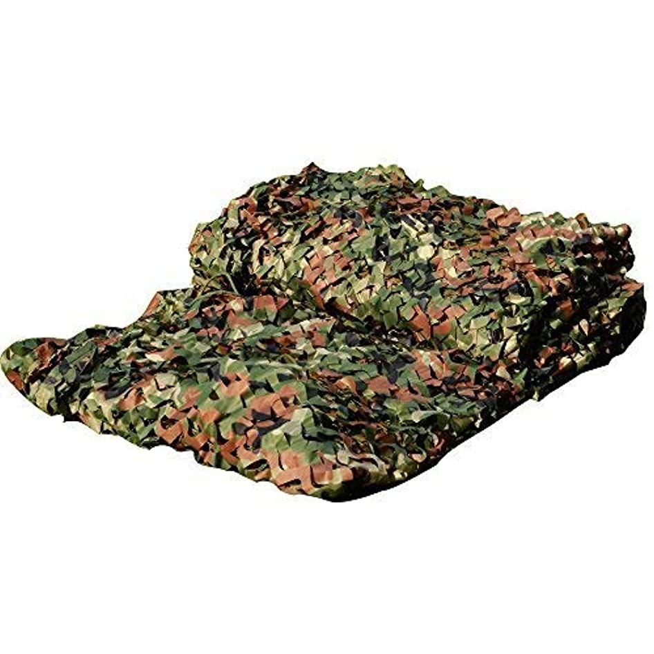 時乱闘気候LOOGU Camouflage Netting, Camo Net Hunting Blind Great for Sunshade Camping Shooting Hunting etc. (150D Polyester, 6.5x10ft) [並行輸入品]