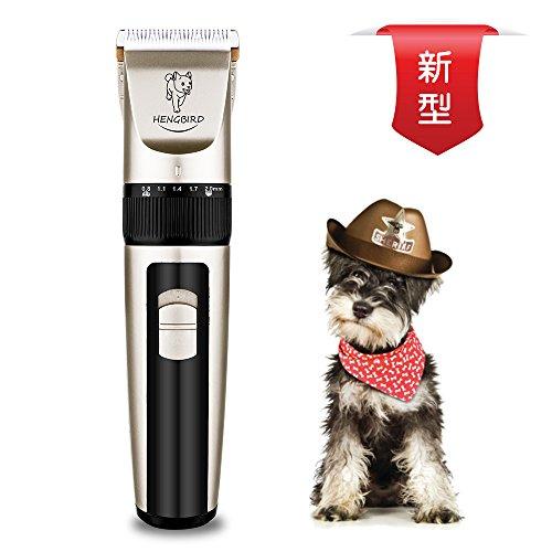 HENGBIRD ペット用バリカン 電動 低騒音 犬 猫 足裏 全身カット用 3.7Vハイパワー 専用銅芯モーター ペットクリッパー 充電式/コードレス 日本語説明書付き