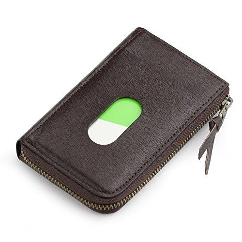 日本製 本革 パスケース 兼用 カードケース ダークブラウン