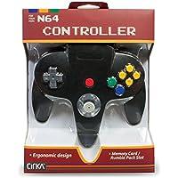 新品 N64 Cirka Controller - Black サードパーティー社製