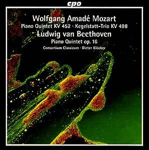 モーツァルト:ピアノ、オーボエ、クラリネット、ホルンとファゴットのための五重奏曲 変ホ長調K.452/ベートーヴェン:五重奏曲 変ホ長調Op.16(Mozart,Beethoven:Quintets)