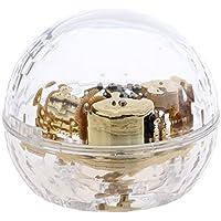 Dovewill キュービックボール 透明 アクリル 音楽ボックス ミュージックボックス オルゴール 全13曲選べる   - エリーゼのために