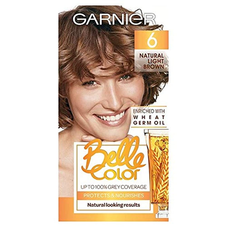 タールインターネットパウダー[Belle Color ] ガーン/ベル/Clr 6ナチュラルライトブラウンパーマネントヘアダイ - Garn/Bel/Clr 6 Natural Light Brown Permanent Hair Dye [並行輸入品]