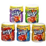 Kool Aid クールエイド (アメリカ製 粉末ジュース) 5種 [並行輸入品]