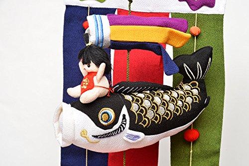 室内鯉のぼり 鯉ものがたり(小) のれん型 ぬいぐるみ 金太郎 つるし飾り 初節句 端午の節句 五月人形