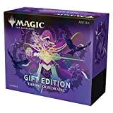Magic: The Gathering Throne of Eldraine Bundle Gift Edition | Alternate Art | 10 Booster Pack | 1 Collector Booster | Accessories