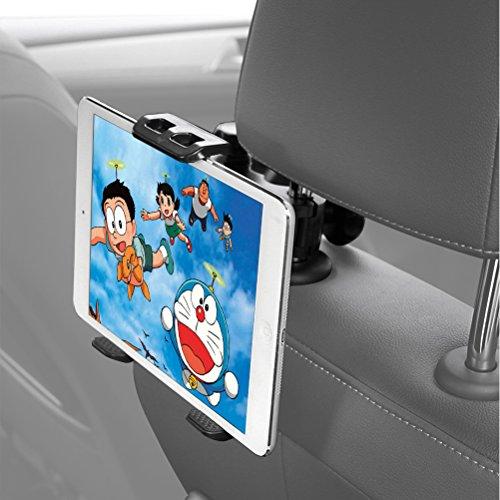 HUNDA 車載ホルダー スマホ タブレット 兼用 後部座席...