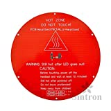 [Sintron] 3D Printer Heatbed Round 3mm Aluminum MK3 Heated Bed for RepRap Rostock Delta Kossel Mini with Thermistor & Wire [並行輸入品]