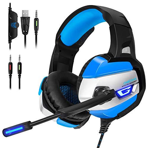 ゲーミングヘッドセット ゲーミングヘッドホン PS4ヘッドセット PCヘッドセット ゲーム用 switch PS4 Xbox One ノートパソコン マイク ノイズキャンセル FPSゲーム最適