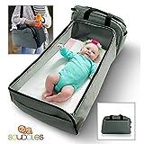 Best ベビーBassinets - - - - - - - -ポータブルベッド旅行Infant Diaperバッグベッド籐製ゆりかごのポケットベビー乳児Sleeping Review