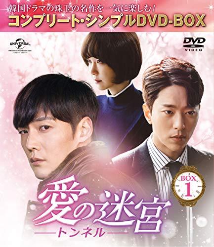 愛の迷宮~トンネル~ BOX1 (コンプリート・シンプルDVD‐BOX5,000円シリーズ)(期間限定生産)