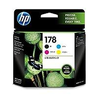 HP (まとめ) HP178 インクカートリッジ 4色マルチパック CR281AA 1箱(4個:各色1個) ×3セット