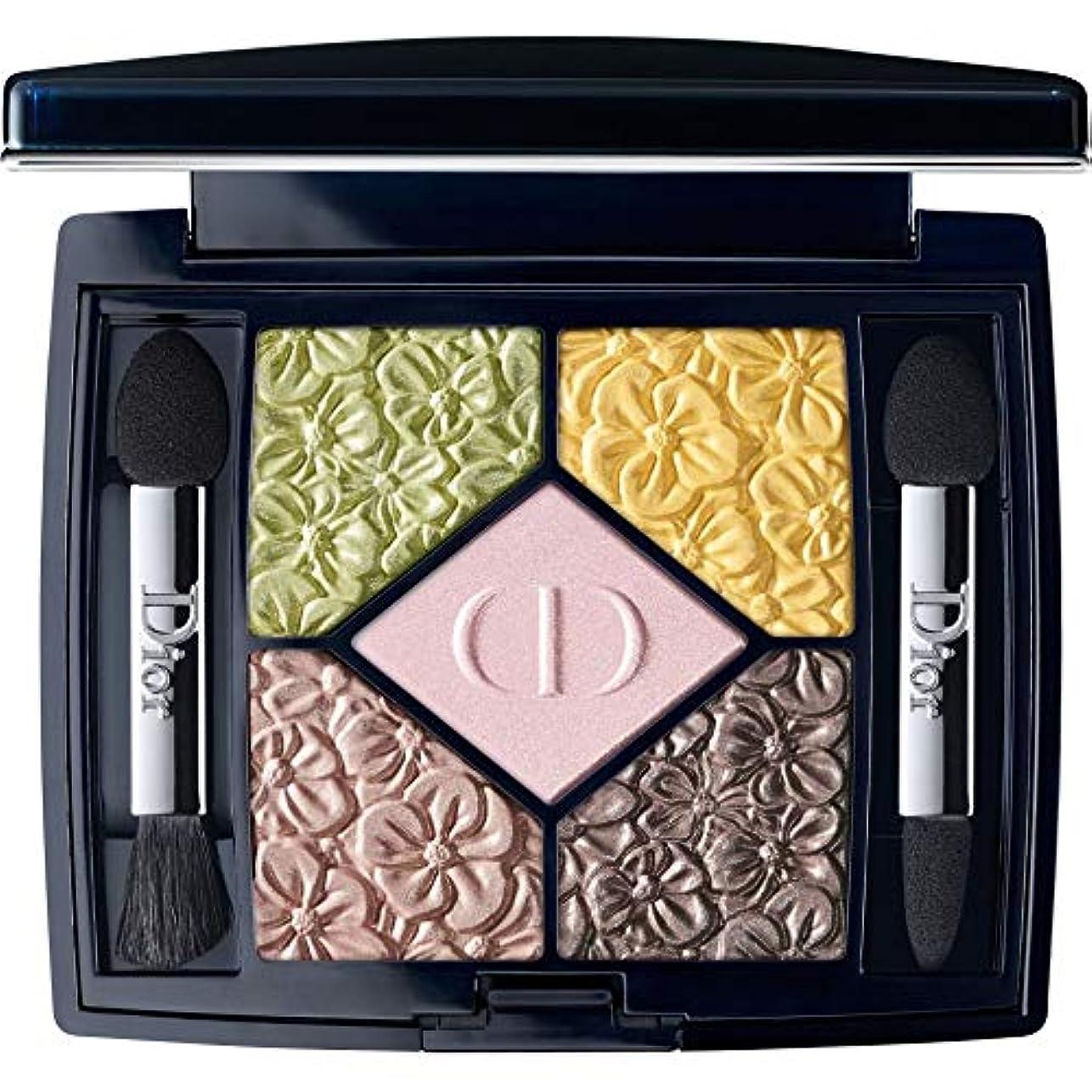 の仮定する用量[Dior ] ディオールの庭園版クチュールカラー&エフェクトアイシャドウパレット4.5グラム451を輝く5 Couleursは - バラ園 - DIOR 5 Couleurs Glowing Gardens Edition...