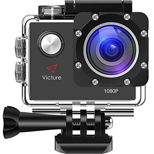Victure アクションカメラ 1200万画素 1080P ...